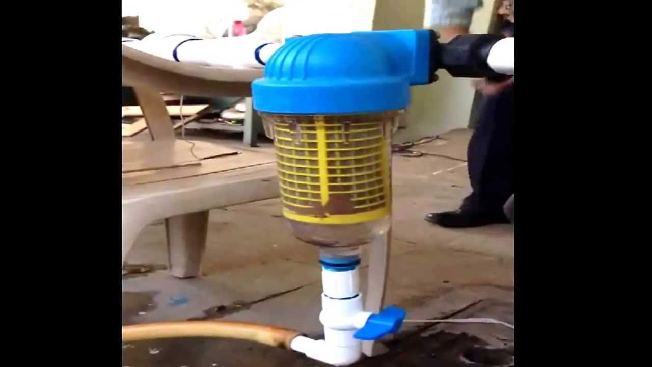Hydra Self Cleaning Filter With Back Wash Youtube