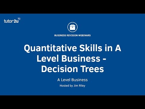 Decision Trees For A Level Business