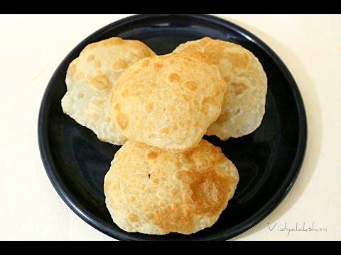 Restaurant Style - Bhatura Recipe