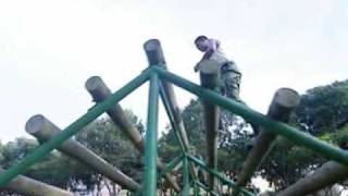 Basic Military Training - Standard Obstacle Course