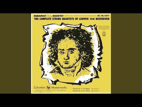 String Quartet No. 4 In C Minor, Op. 18: I. Allegro Ma Non Tanto