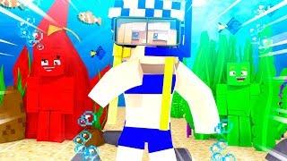 100% UNSICHTBAR UNTERWASSER?! - Minecraft CHALLENGE