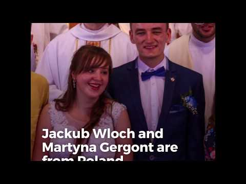 This Polish couple got married after meeting at World Youth Day in Krakow