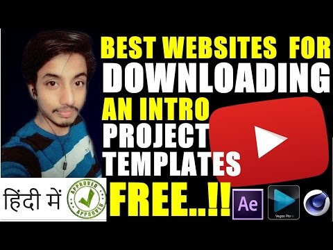 Best Website For Downloading Free Premium Intros Templates/Projects   Hindi Tutorial 😉😍