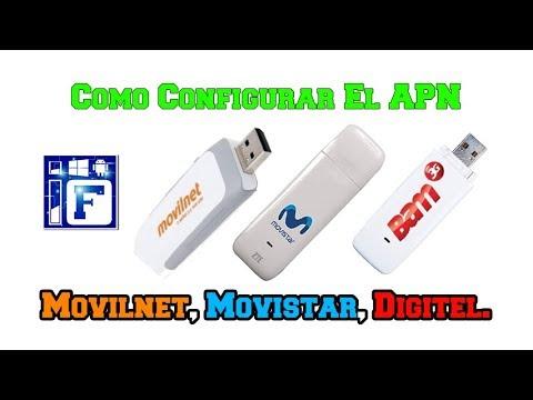 Configurar El APN Movilnet Movistar Digitel En Tu Dispositivo Movil Liberado