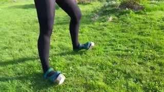 Faun Costume Hooves Walking Fail :D