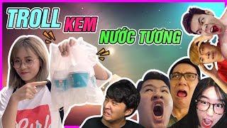 MISTHY TRoll 500k Subs : ăn KEM NƯỚC TƯƠNG !!!!!