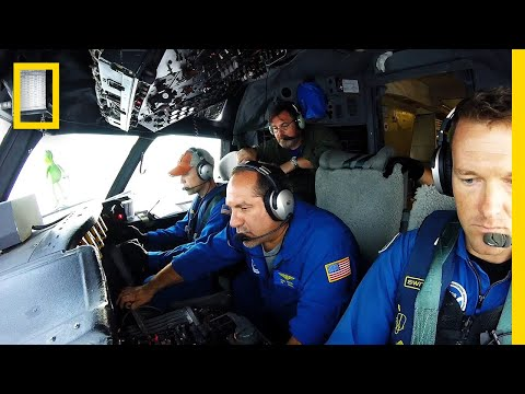 Watch Daredevils Fly Into a Hurricane for Science | National Geographic