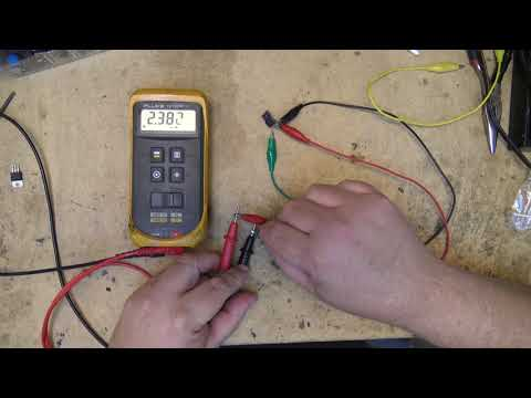 Testing a MOSFET and BIPOLAR transistor with a multimeter