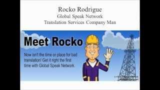Meet Rocko Rodrigue, Company Man on GSN Translation Platform # 1