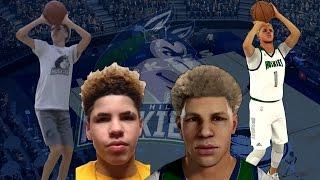 NBA 2K17 - How To Create LaMelo Ball