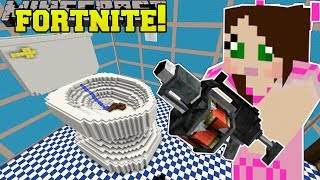 Minecraft: GIANT TOILET - FORTNITE BATTLE ROYALE - Modded Mini…