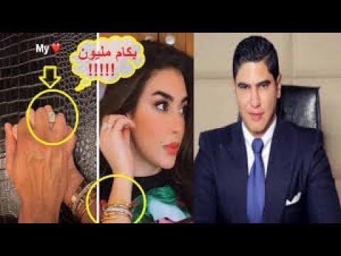 لن تتخيل سعر خاتم خطوبة احمد ابو هشيمة من ياسمين صبرى ملايين الجنيهات