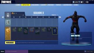 Fortnite All Season 3 Battle Pass Items