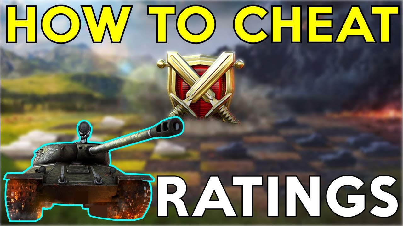 "WOTB | HOW TO ""CHEAT"" RATINGS"