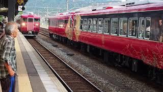【七尾線】七尾駅2番線折り返し普通金沢行き415系到着