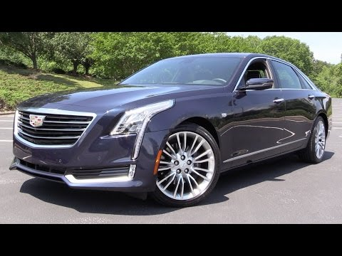 2016 Cadillac CT6 (3.6L AWD) - Start Up, Road Test & In Depth Review