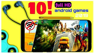 Top 10 full HD offline Android Games under 100MB| Ultra HD | offline | updated 2019 || by Zack