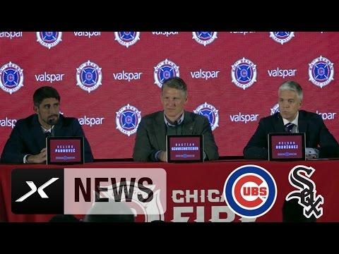 Bastian Schweinsteiger im Verhör: Chicago Cubs oder Chicago White Sox? | Chicago Fire | MLS