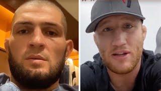 UFC 254: Хабиб vs Гэтжи - Виртуальная пресс-конференция