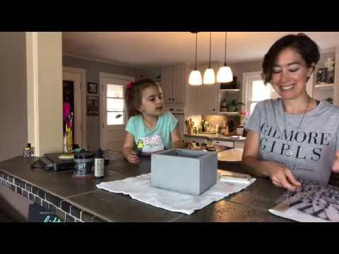 Scrap Wood Box Makeover - DIY