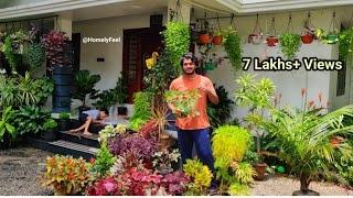 Pots hanging Ideas | in Malayalam | Homely Feel | Diyab