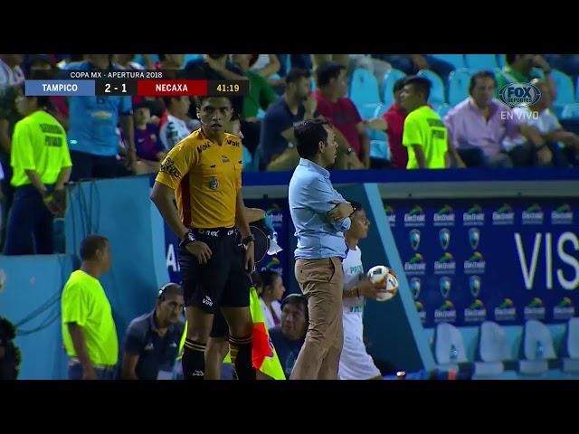 GOL: Tampico Madero 2-1 Necaxa