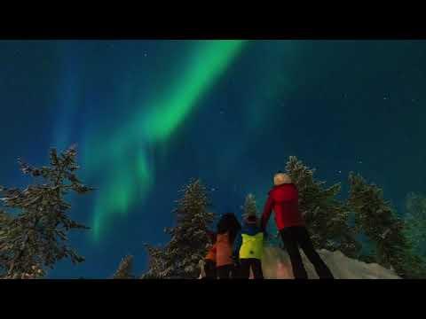 Solar Storm over Lapland