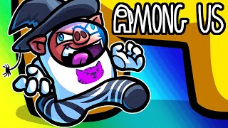 Among Us Funny Moments - A 3rd Class in Among Us? (Witch Mod)