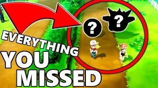 Everything YOU MISSED in the Pokemon Let's Go Pikachu & Let's Go Eevee Reveal