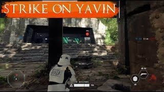 Star Wars Battlefront 2 - Yavin 4 Strike Victory.
