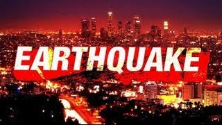 Earthquake Westwood LA - Tremors cause damage -Video