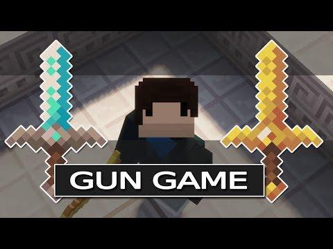 GUN GAME In Minnekraft! | Tutorial + Download!