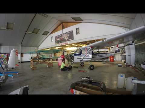 Timelapse O-200-A Engine build on Cessna 150