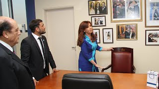 Cristina Kirchner inauguró el edificio inteligente de la Municipalidad de Berazategui.