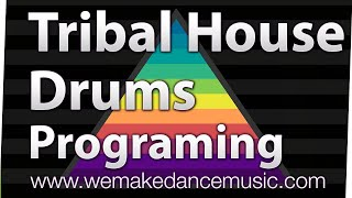 Making a Tribal House Beat Tutorial - Logic Pro X
