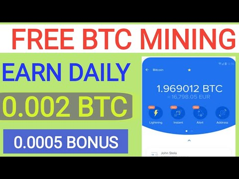 Free Bitcoin Miner | New Bitcoin Mining Site | New Free bitcoin Earning Site 2020