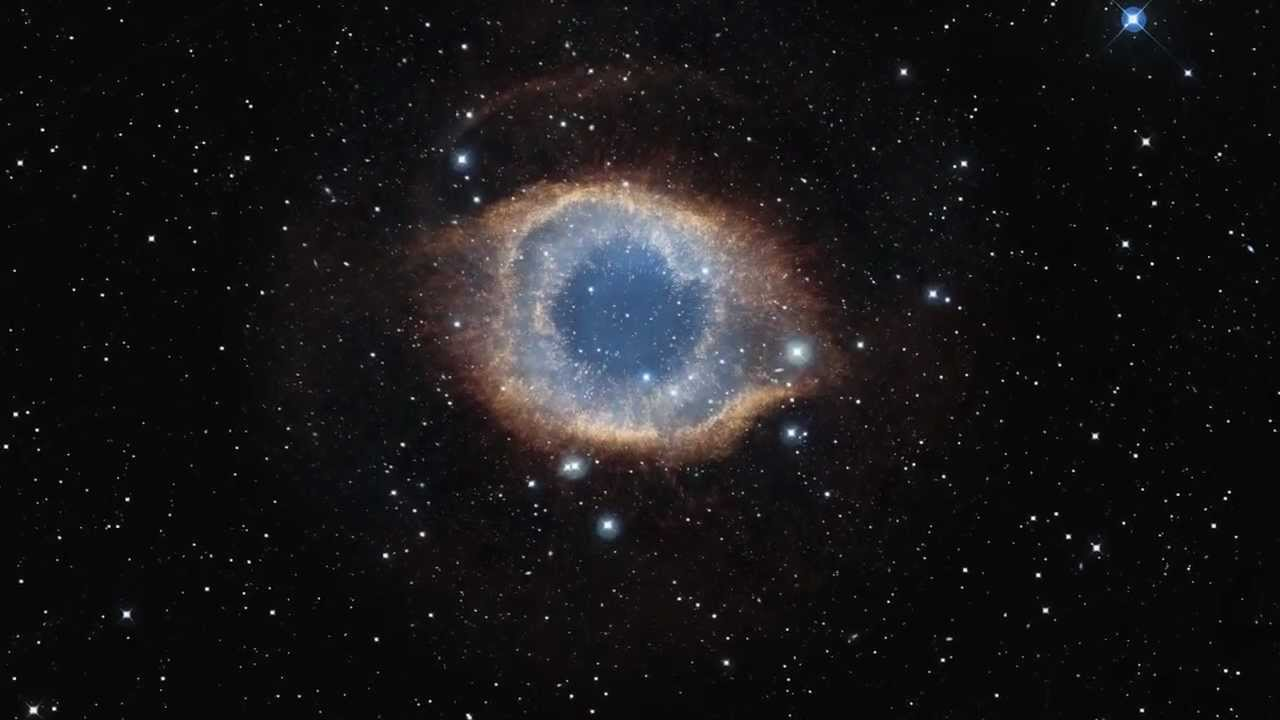 ESO- Zooming into the Helix Nebula. HD 720p - YouTube