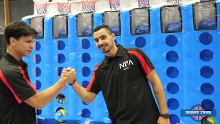 Shoot Four Promo Video - Connect 4 basketball