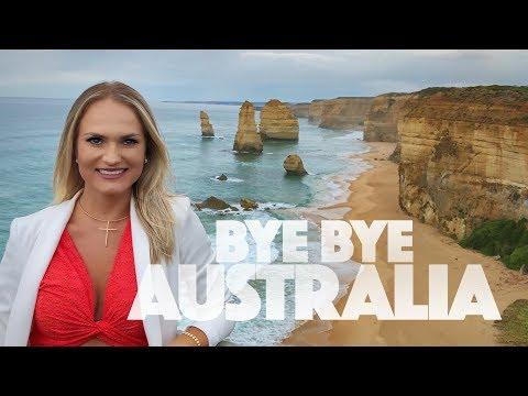 A praia mais linda da Australia pela Great Ocean Road - Vlog de viagem