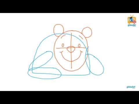 วาดเองก็ได้ง่ายจัง ตอน หมีพูห์ (How to draw Winnie the Pooh)