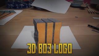 Speed draw 3D BO3 Logo!