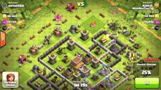 Clash of Clans - Struggle to TH9 #4 LVL 5 GOBLINS!!!!