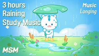 beat to study / sleep / relax - Longing | 3 Hours | study to | relaxing | Rainy day | My soul music