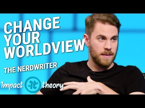 The Nerdwriter on Cultivating a Powerful Worldview | Evan Puschak on Impact Theory