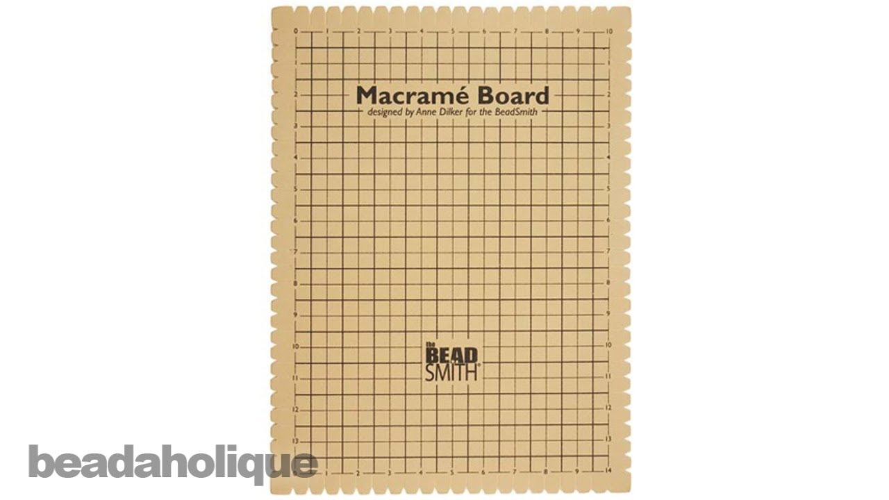 macrame boards product spotlight the beadsmith macrame board 6716