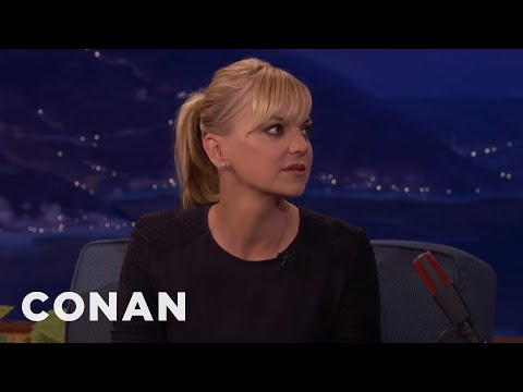 Dr. Anna Faris Is An Adjunct Professor At USC  - CONAN on TBS