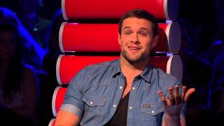 The Voice of Ireland Series 3 Ep 1 - Caoin Fitzpatrick Blind Audition