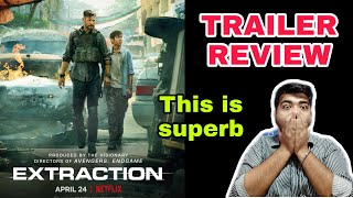 EXTRACTION TRAILER REVIEW|CHRIS HEMSWORTH|JOE RUSSO