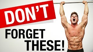 3 Underrated Exercises You Should Be Doing! | STOP FORGETTING THESE!